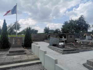 Travaux cimetière